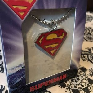 DC Comics Other - UNISEX-NWT Superman & Batman Necklaces Save on S/2