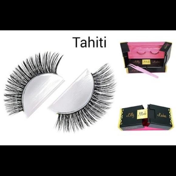 Lilly Ghalichi Lashes Makeup Lilly Ghalichi Mink Lashes In Tahiti