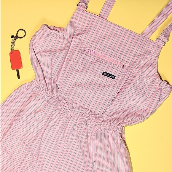 Vintage Shorts - Pink Vintage Shortalls