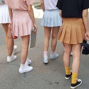 Motel Rocks Striped Tennis Skirt