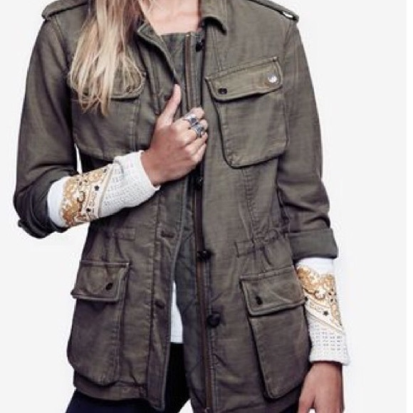 Free People Jackets & Blazers - New free people utility jacket ❤