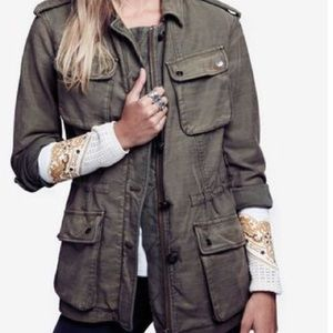 Free People Jackets & Coats - New free people utility jacket ❤