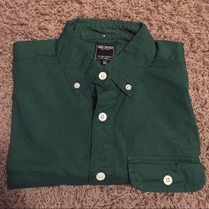Todd Snyder Other - Todd Snyder Poplin Button Shirt, Green