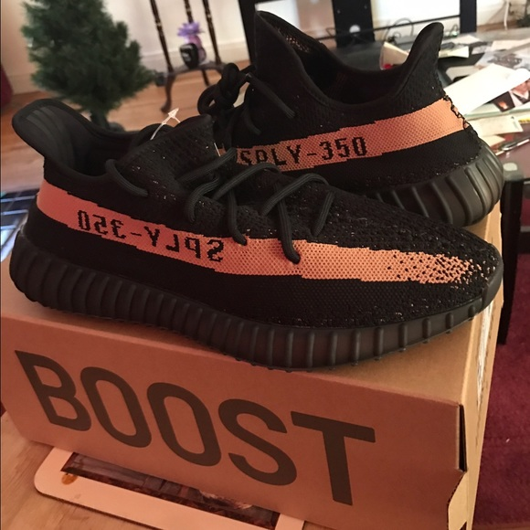 Adidas yeezy boost 350 v2 black copper size 12 BY 1605 sply 2 day