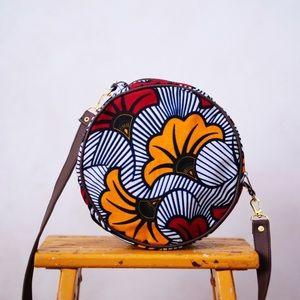 mix Handbags - The Lilly - Handmade Circle bag