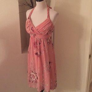 A. Byer Dresses & Skirts - High-low Halter Dress