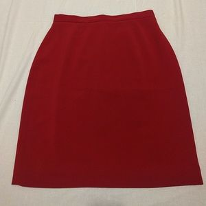 Amanda Smith Dresses & Skirts - Red Pencil Skirt