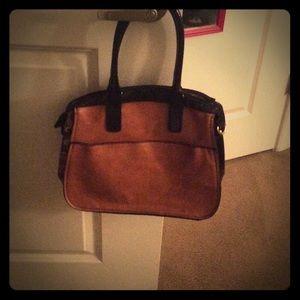 London Fog Handbags - Cognac London Fog purse