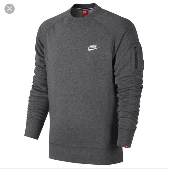 best place premium selection free shipping Nike AW77 Crewneck Sweatshirt With Arm Pocket