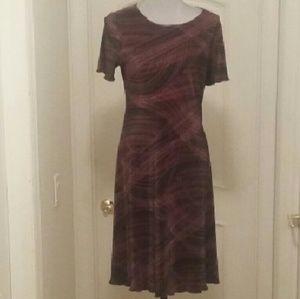 VTG Shar Ade of California Textured Dress