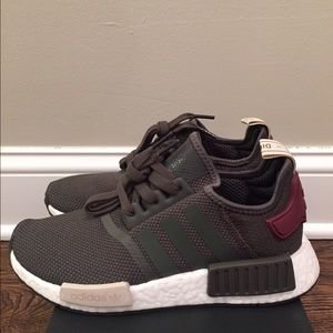 Adidas Shoes - Brand New Adidas NMD R1 Women's Olive Maroon