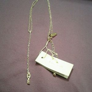kate spade Jewelry - Kate spade love chain necklace