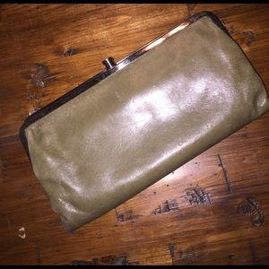 HOBO Handbags - HOBO Int'l Lauren Wallet Clutch Olive Green