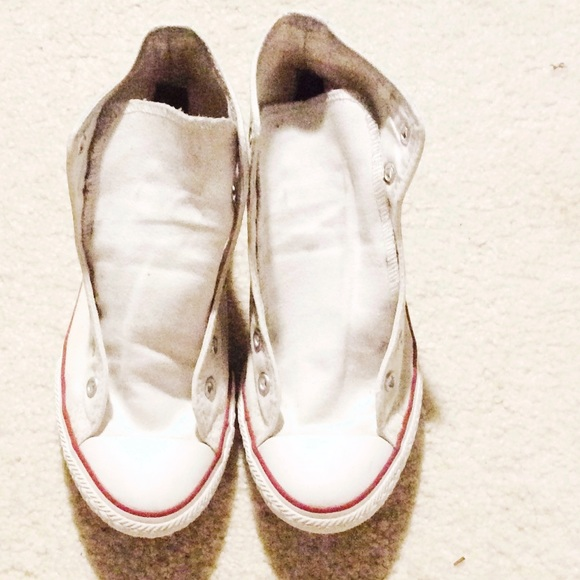 c2d1f7cd7 Converse Shoes | White High Top Size 3m 5w 30 Vinted | Poshmark