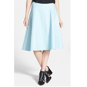 ASOS Skirts - Baby Blue Leather Skirt