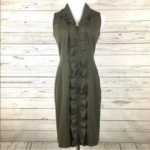 Classiques Entier Dresses & Skirts - CLASSIQUES ENTIER Wool Blend Sheath Dress