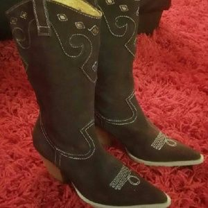 Women boot shoes