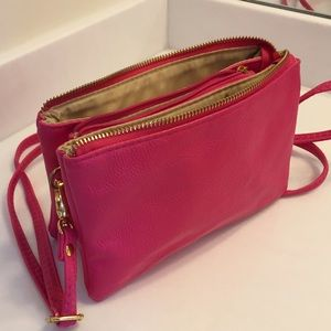 Forever 21 Handbags - Hot Pink Cross Body Bag
