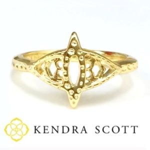 KENDRA SCOTT Gold Tone Gorgeous RING NEW