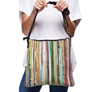 Southern Girl Fashion Handbags - PATCHWORK BAG Patterned Bohemian Large Bucket Tote