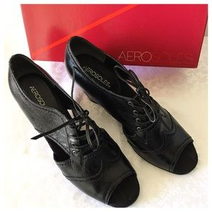 AEROSOLES Shoes - Aerosoles Peep Toe Wedge Shoes