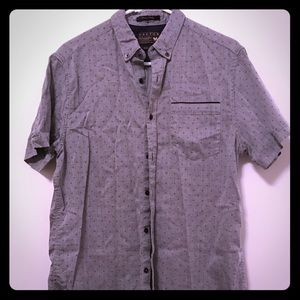 Cactus Other - Men's short sleeve button down shirt