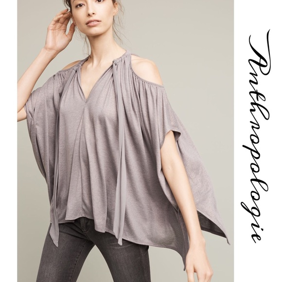Anthropologie Tops - Anthro Tulay Open Shoulder Top