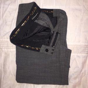 Express Pants - Dark Grey Express Design Studio Dress Pants