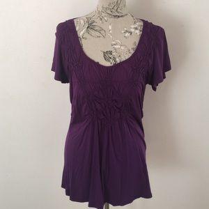 Kenar Tops - Kenar Purple Top L