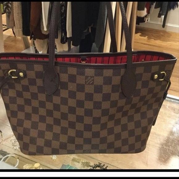 Louis Vuitton Handbags - Authentic Louis Vuitton Neverfull Damier Ebene PM a76fe895eb0f6