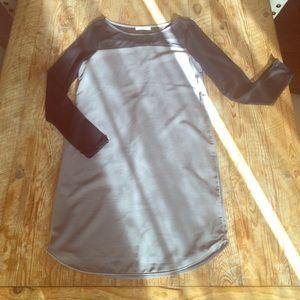 Lush Dresses & Skirts - Super cute mesh inset tunic/ mini dress