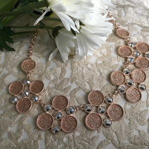 New York & Company Jewelry - BRAND NEW! Rose gold statement necklace
