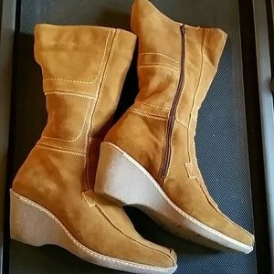 47e5787e29557 Nine West Shoes - Ninewest Suede Boot  Mid-calf  Made in