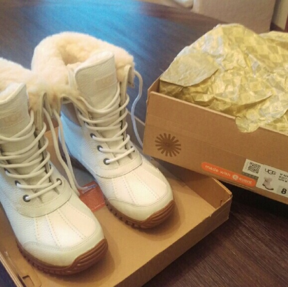 white ugg snow boots