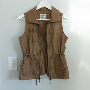 Old Navy Khaki Vest