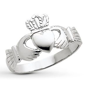 Kay Jewelers Jewelry - 14K white gold claddagh ring
