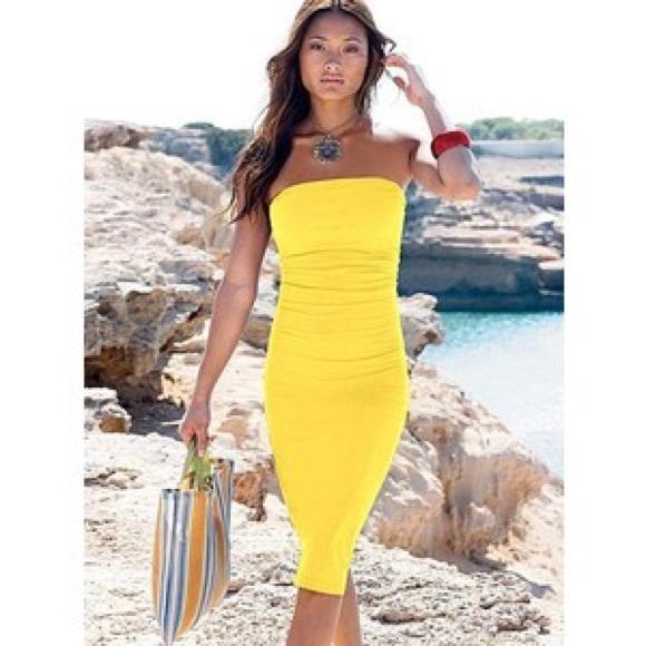 c4429a4eff Victoria's Secret RED strapless bra top dress XS. M_58654f4941b4e0952d010c69