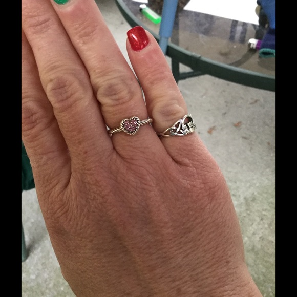 ead3738de305db David Yurman Jewelry - Gorgeous David Yurman SS heart ring