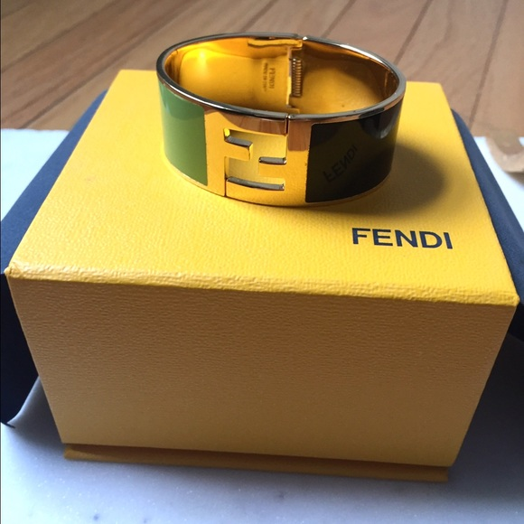 0437b90e653 Fendi Jewelry - Fendi enamel cuff bracelet
