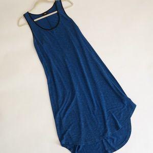 Blue Racerback Tank Dress