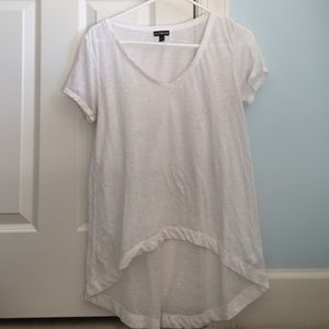 CLOSET CLEAROUT high low lightweight v neck
