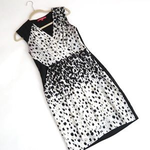Printed Cocktail Dress