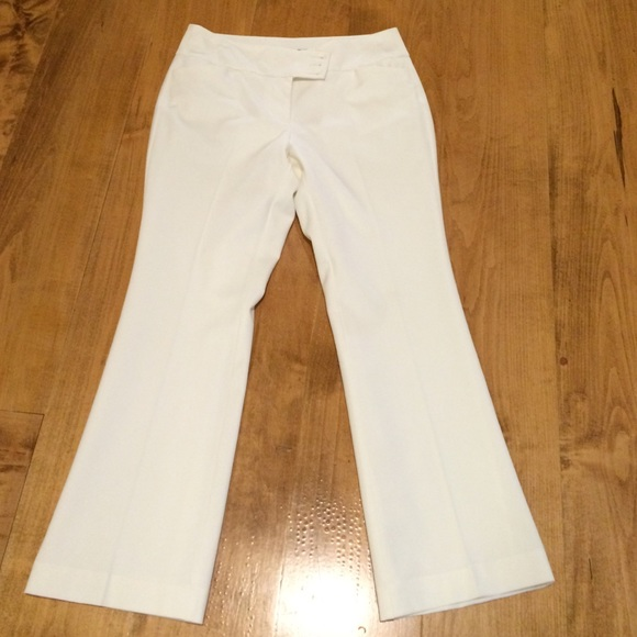 90% off Ann Taylor Pants - Winter white lined pants from Tracey's ...