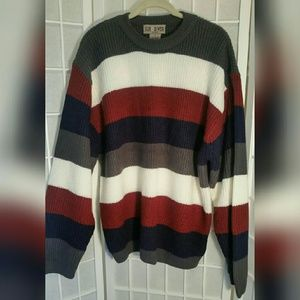 Sun River Other - Nwot men's striped sweater L