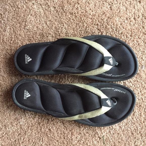 Memory Foam Adidas Flip Flops | Poshmark