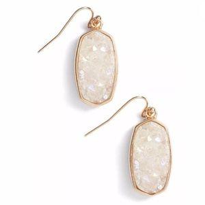 Kendra Scott Danay Earrings in Rose Gold & Drusy
