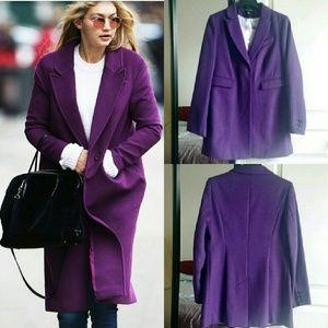 Dorothy Perkins Jackets & Blazers - 🌸WINTER🌸 Purple Coat Size 8