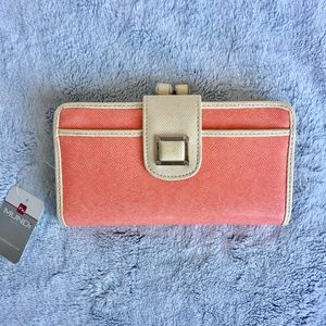 SALE! Great NWT Coral Wallet