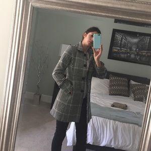 J. Crew houndstooth coat