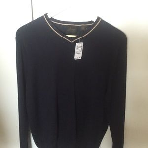 Jos A Bank cashmere sweater men's size small